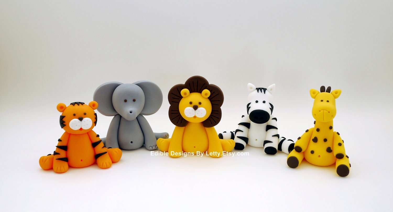 Cake Decorations Safari Animals : Unavailable Listing on Etsy