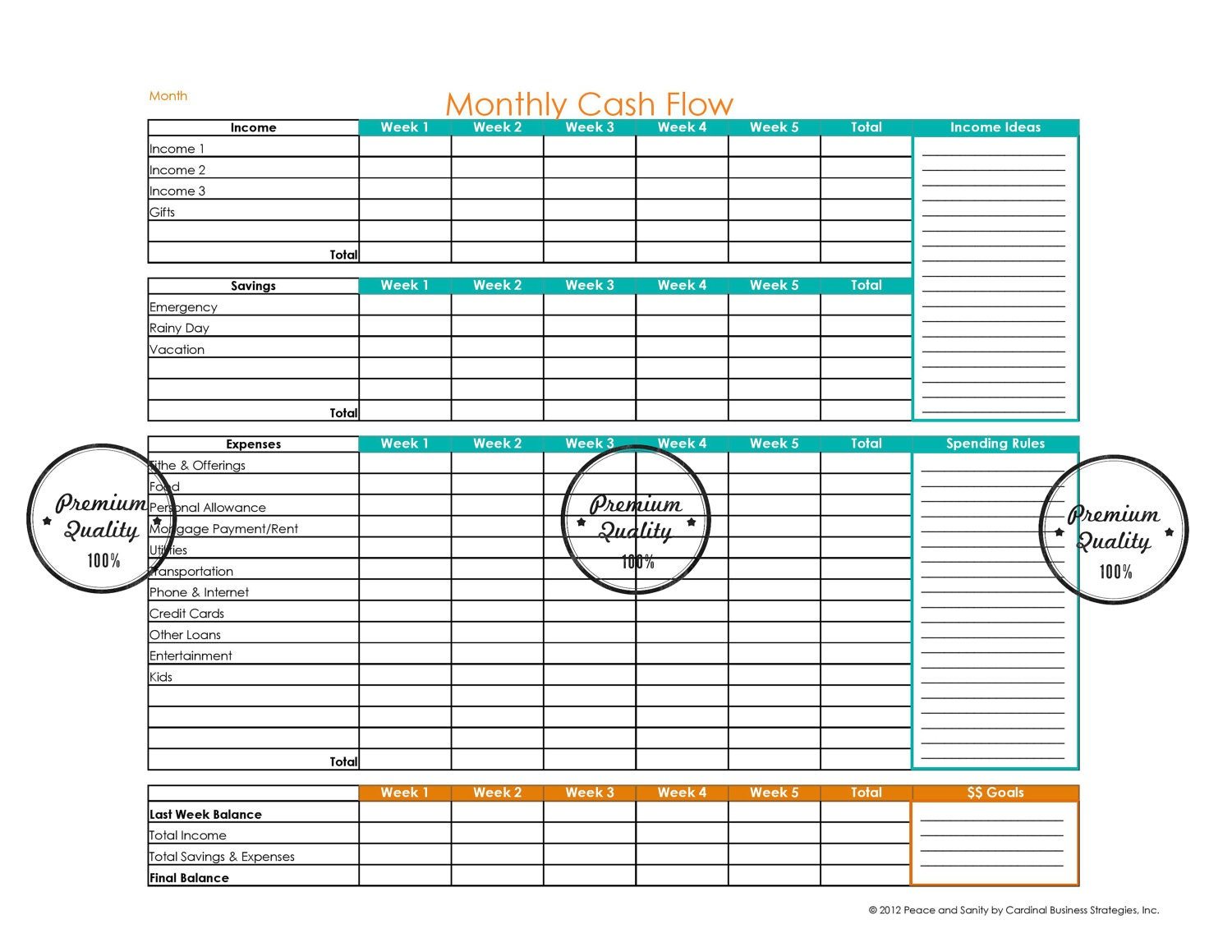 Printable Monthly Bill Organizer Template along with printable bill ...