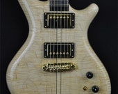 Alexander James Guitars - Ursa Curly Maple Guitar (exotic wood electric instrument) Hand Made in Canada