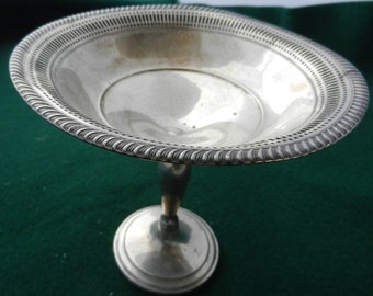 Vintage Sterling Compote by M.Fred Hirsch