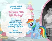 My Little Pony  Printable Birthday Invitation