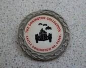 Vintage Motor Racing Castle Donington Badge Car Collectables Accessories