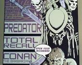 Predator, Total Recall, Conan