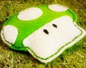 1UP Mushroom Kitty Toy