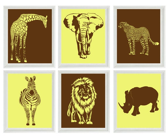 Safari Wall Art safari wall decor | roselawnlutheran