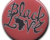 "2.25"" ""Black Love"" Pinback Button (v4)"