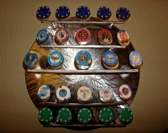 Multiple Poker Chip Display