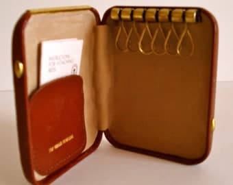 Vintage Leather Key Case