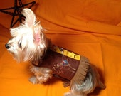 "Cowboy Pup Harness ""Trip's Jacket"""
