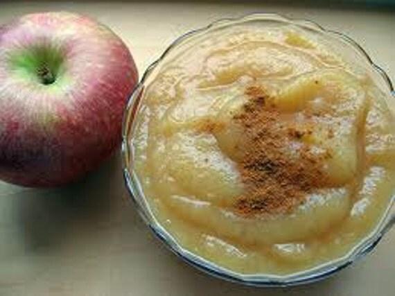 Homemade apple sauce or apple butter