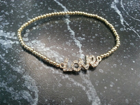 Beautiful Gold LOVE Bracelet