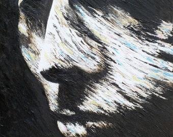 The Sculpture - Original Oil Painting on stretchered canvas by International artist Allen Richings
