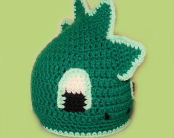 Dragon Beanie Hat. (Any Sizes: Newborn to Adult). Please send the size.