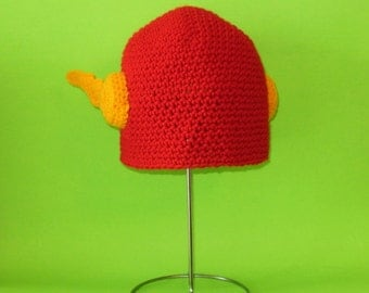 Hero Hat. Beanie. (Any Sizes: Newborn to Adult). Please send the size.