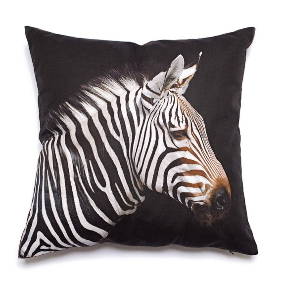 Zebra Decorative Pillows : Decorative Pillow Zebra