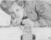 Matt Smith 'Wargames' Drawing