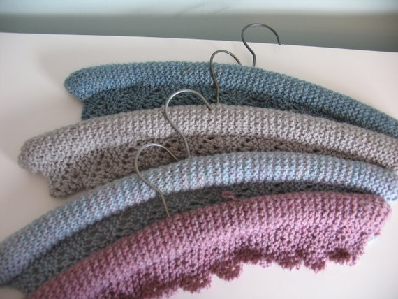 Knitting Coat Hangers : Seven vintage knitted clothes hangers by lenaavavintage on