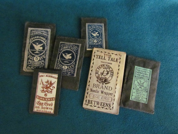 Vintage Unopened Sewing Needle Packets