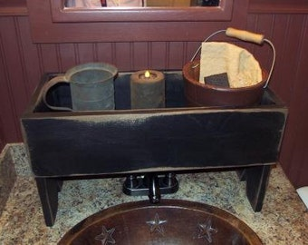 Primitive,Catch All,Box, wooden, homegoods,