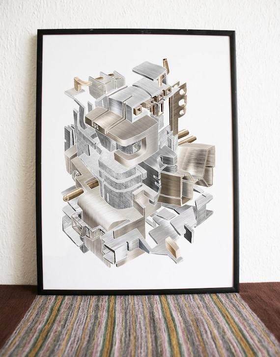 Machine 2 - print A3
