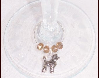 Dog Breed Wine Charms