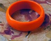 Bright Orange Bangle