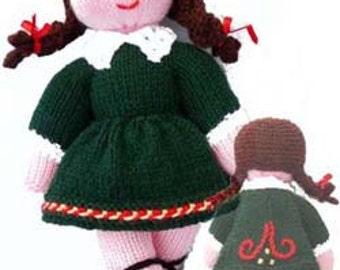 The Irish Dancer Knitting Pattern PDF Emailed to buyer