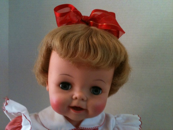 Bibsy doll vintage from the 1960's comes with her original box