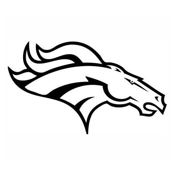 Denver Bronco Broncos Football Sports By StickThemVinyl On