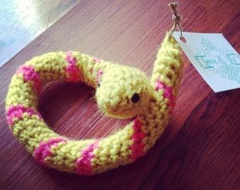 Catnip Snake Toy