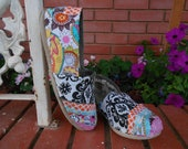 Fabric Covered Toms