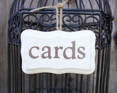 Shabby Chic Wood Sign for Wedding and Event Gifts and Cards
