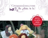 Inspired Waldorf Doll Making, Craft Little Book, two sizes 32cm (12 inch) and 42 cm (16 inch)