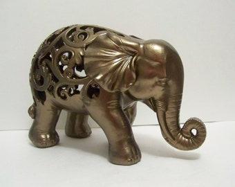 Elephant Statue, Elephant Figurine, Elephant Decor, Home Decor, Collectable Elephant