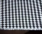 OOP Michael Miller Fabric, harlequin