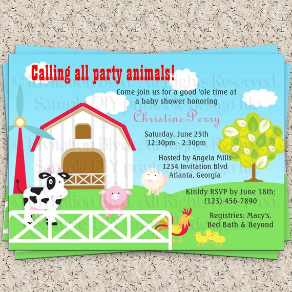 the farm farm baby shower animals baby shower farm animals baby