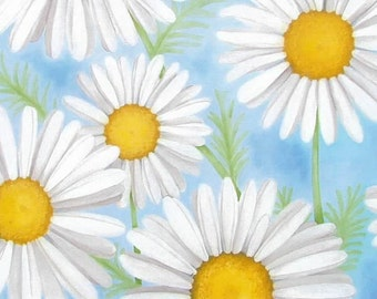 Daisies in the Sky Notecard Set