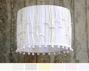 Lamp Shade Drum Lampshade Elegant romantic Lamp Shades. Decorative Home Lighting drum shade    international registered airmail post