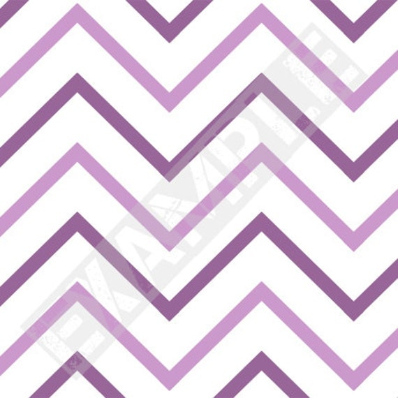 Purple Chevron Pattern