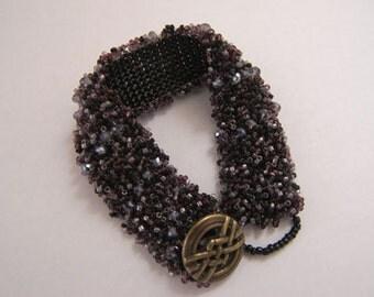 Swarovski Crystals & Glass Bead Bracelet