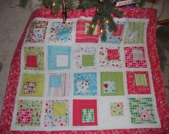 Christmas Quilt: Girls Handmade Quilt