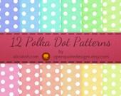 Polka Dot Pattern Digital