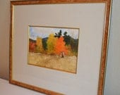 "Roger Blum Original Watercolor - ""October Morning Pheasant"""