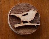 Stock Clay Stamp - Bird (SD122)