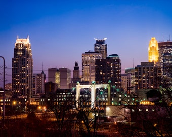 Minneapolis and Hennepin - Minneapolis, MN - Minneapolis Skyline Photography