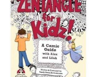 Zentangle For Kids -  Instruction Book from Design Originals