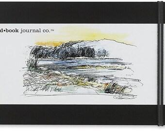 """Hand Book Artist Journal, Landscape, 5.5"""" x 8.25"""", Zentangle, Doodling"""