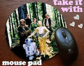 Return of the Jedi gang star wars Mouse Pad DO want Mousepad for your computer on your desk in yo office