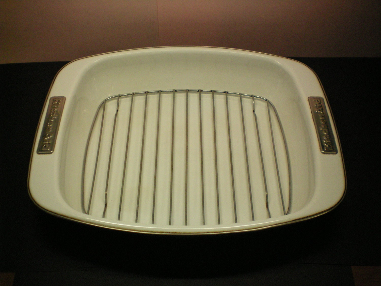 Over sized 16 5 kitchenaid roasting pan with rack by timeintheday