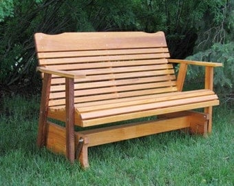 Amish Crafted 4' Cedar Glider